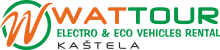 Wattour Kaštela – electro & eco vehicles rental Logo